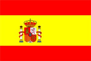 Spania sitt flagg