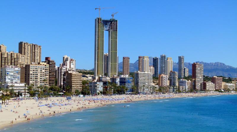 Benidorm i Spania