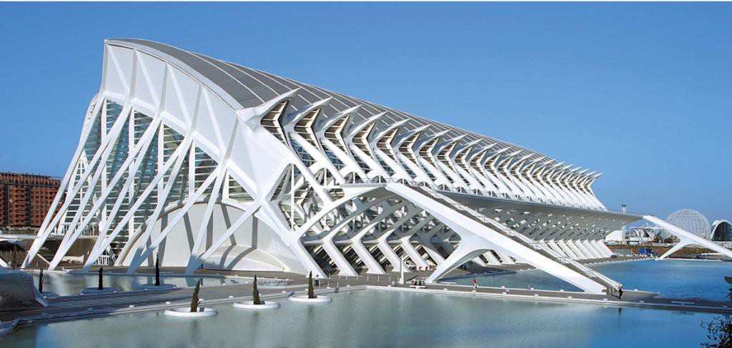 El Museu de ciencies Valencia Spania