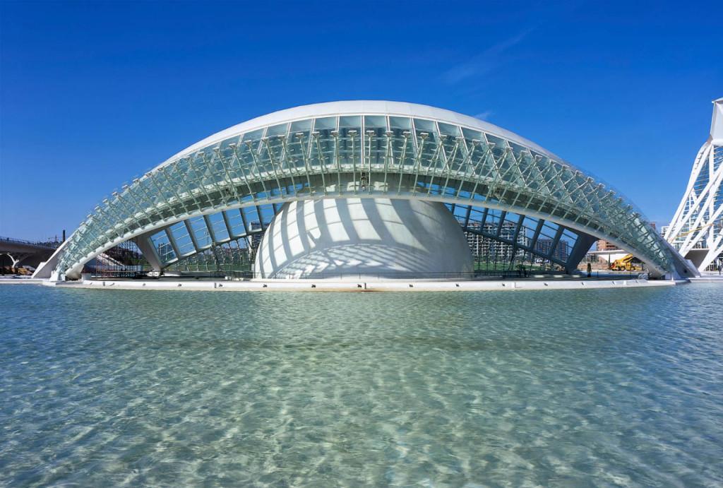 L Hemisfèric Valencia Spania