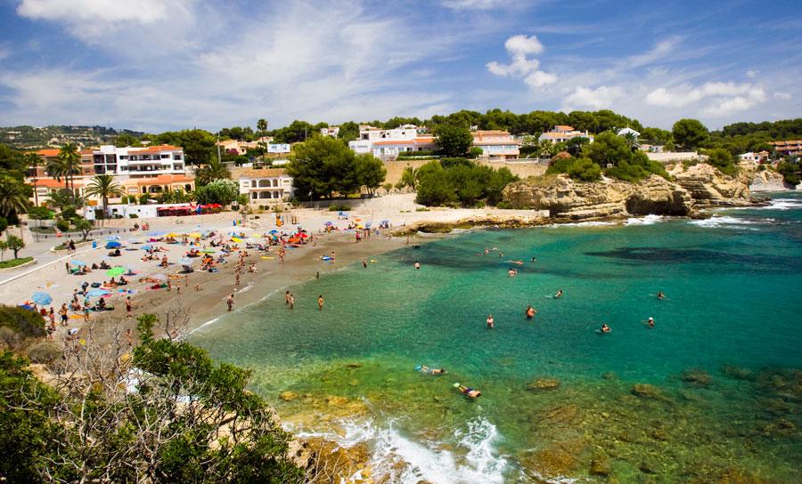 Benissa Playa Cala Fustera