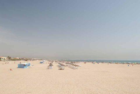Valencia - Playa El Cabañal-Arenas