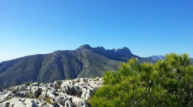 Adventstid fjellverdenen i Alicante nord og omegn