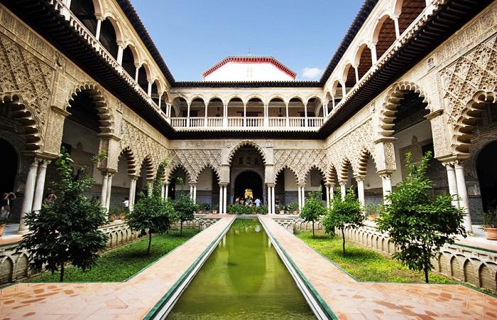 Reales Alcázares i Sevilla