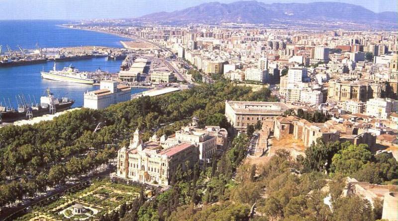 Malaga i Spania Costa-del-Sol