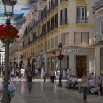 Shopping i Malaga sentrum
