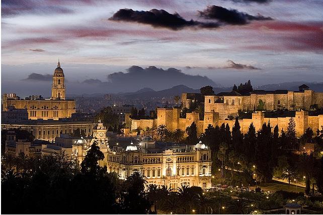 Malaga i Spania