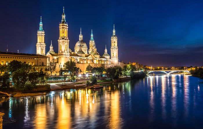 Spanias største byer