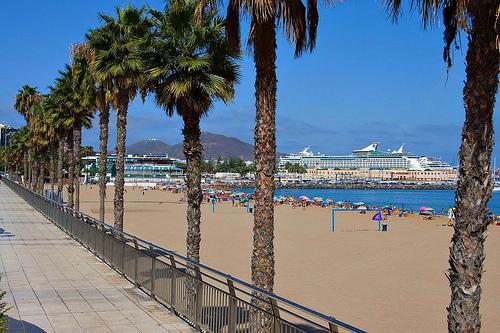 Alcaravaneras Strand Las Palmas
