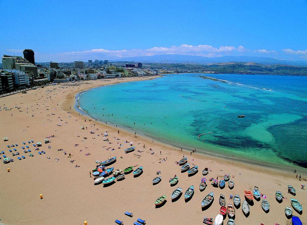 Las Canteras Strand Gran Canaria