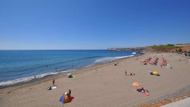 Meloneras strand Gran Canaria