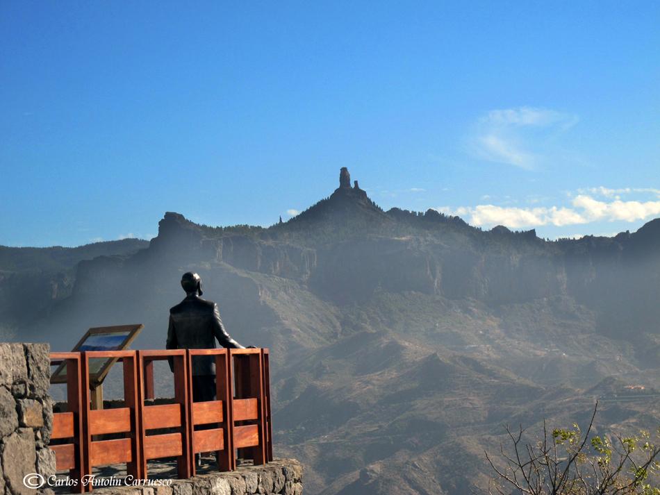 Artenara Gran Canaria Spania