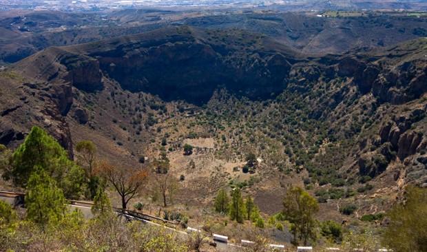 Caldera de Bandama Monte Lentiscal