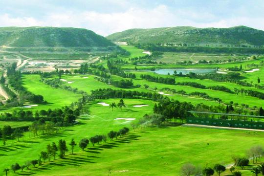 El Plantio golfbane Alicante