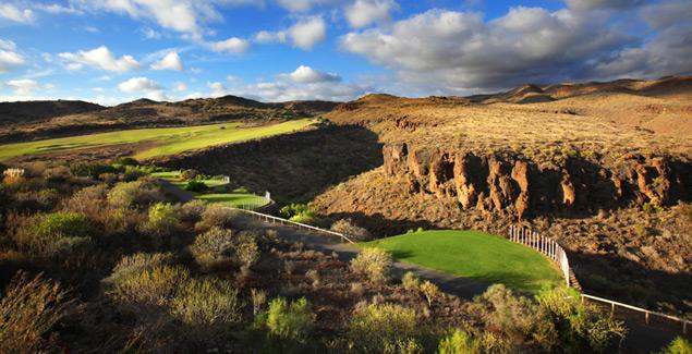 Golfbane Salobre Norte Gran Canaria