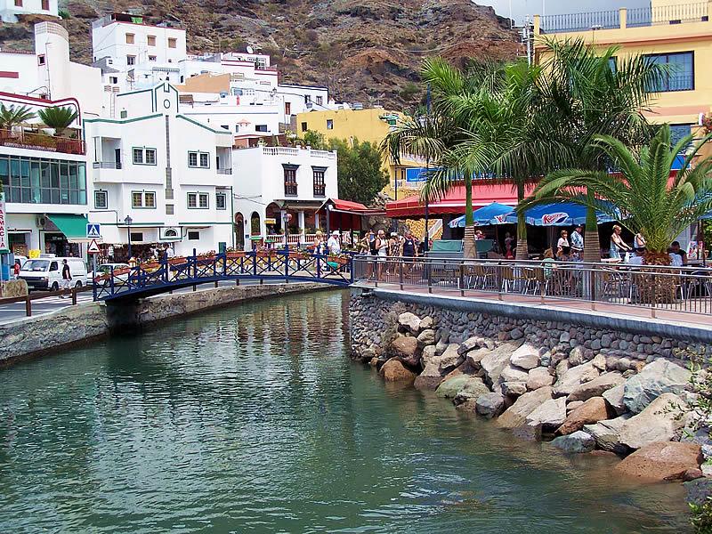 Mogan Gran Canaria Spania