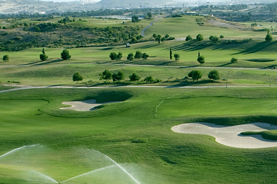 Real de Faula golfbane Benidorm