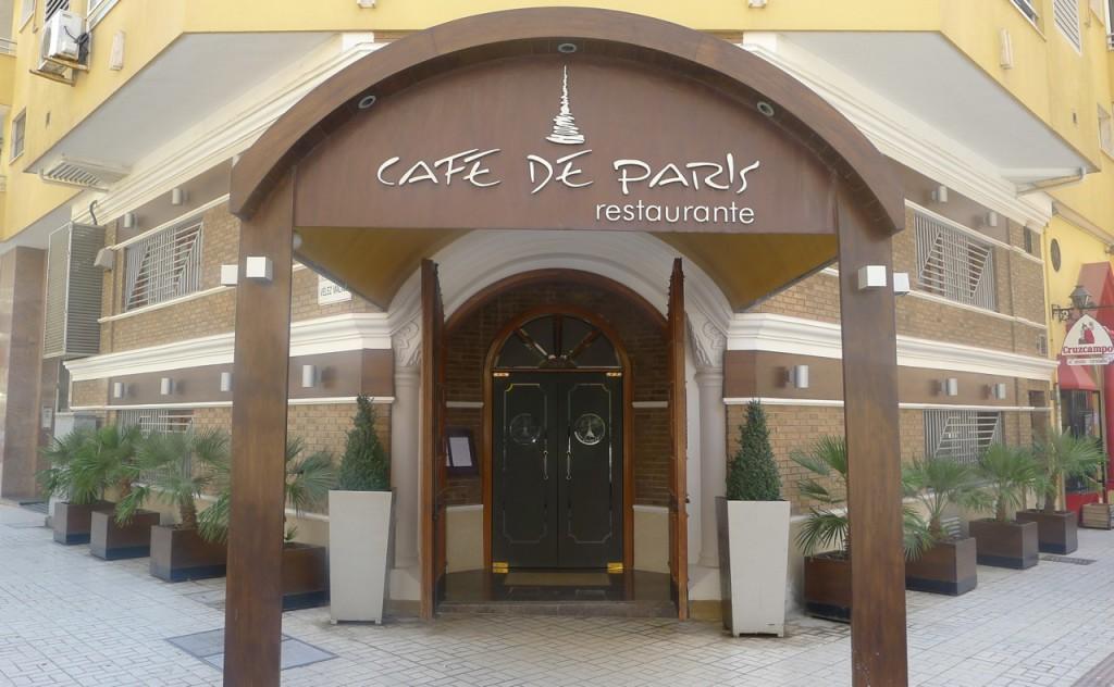 Restaurant Café de París Málaga