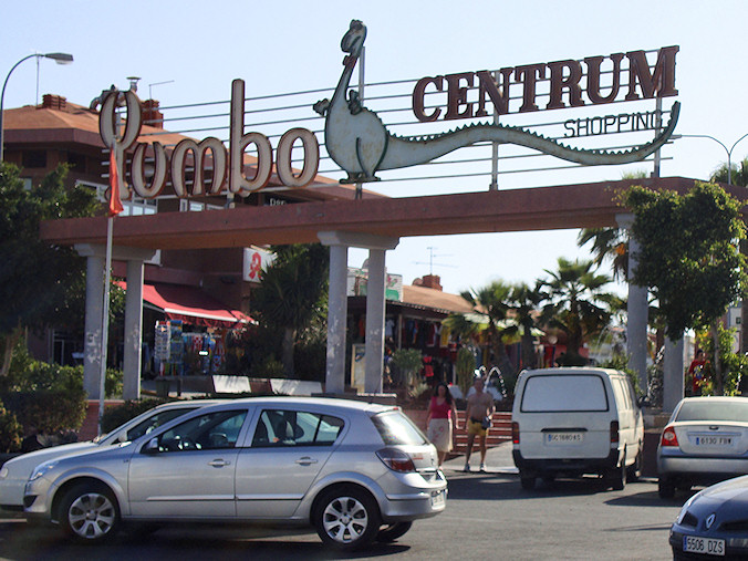 Yumbo shopping center Gran Canaria