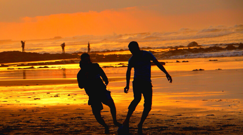 Sol, sommer og fotball, hva mer kan man be om?