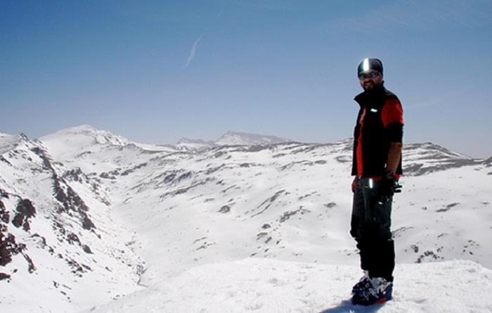 Ski og fotball i Spania