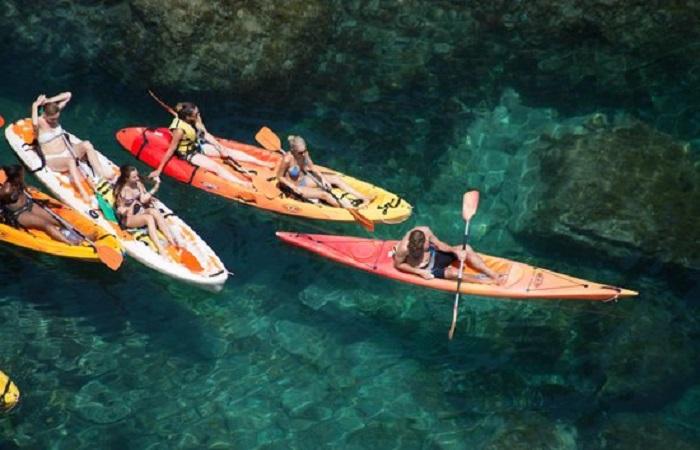 Aktivitetstips Stranden Spania Kayaking